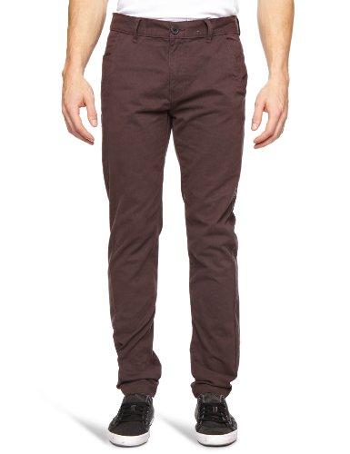 Bellfield MTRS-11178A2 Slim Men's Trousers Aubergine W28 INxL32 IN