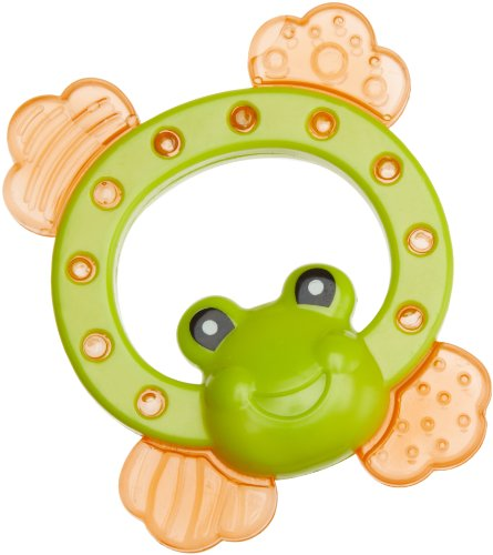 Bebe Dubon Water Filled Frog Shaped Teether Frog Baby Care