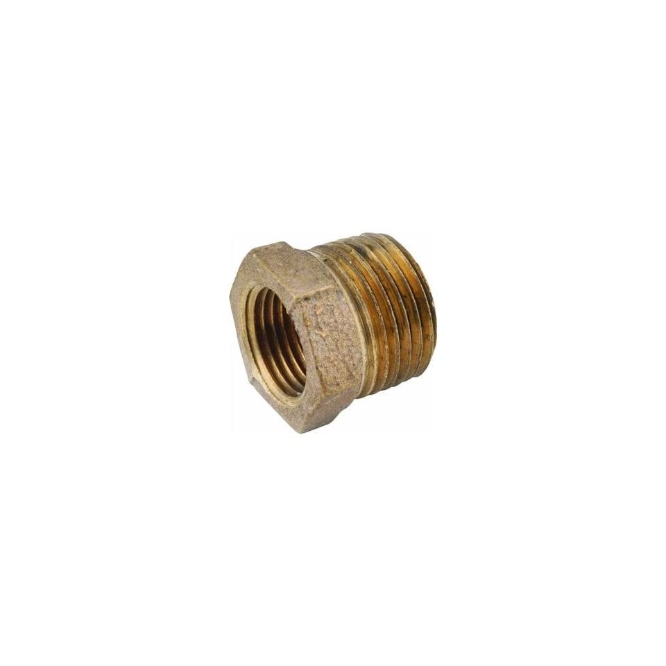 Anderson Metals Corp 1/4X1/8 Brs Hex Bushing 738110 040 Brass Pipe Coupling Reducers & Bushings