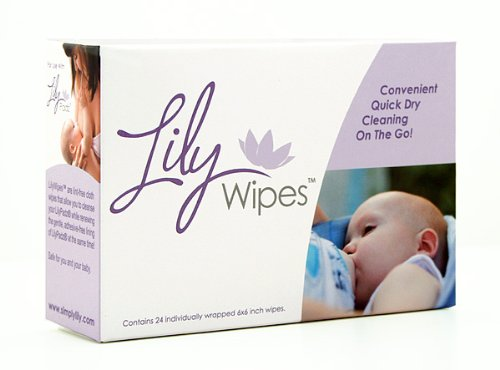 Lily Wipes - Cleansing Wipes (24 Pack)
