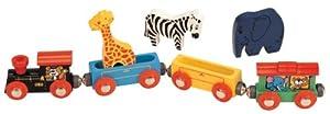 Maxim Wooden Animal Train Set - 7 Piece
