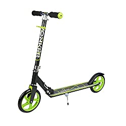 YONKER Heavy Metallic Big Size 2 Wheel Height Adjustable Scooter (Heavy Duty)