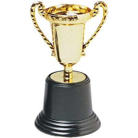 Gold Award Trophy (1 per package) (Trophy For Kids compare prices)