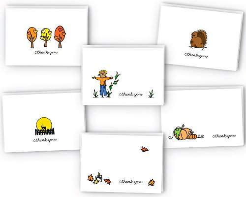 Fall Thank You Card Collection - 24 Cards & Envelopes front-15749