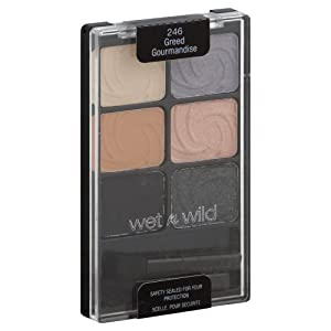 Wet 'n' Wild ColorIcon Eye Shadow Palette, Greed 246