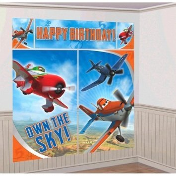 Disney's Planes 2 Scene Setters Wall Decorating Kit