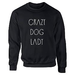 BreadandButterThreads Crazy Dog Lady unisex jumper sweatshirt pullover