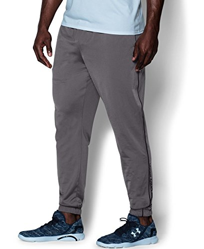 Under Armour Men's Relentless Warm-Up Pants - Tapered Leg, Graphite (040), XX-Large