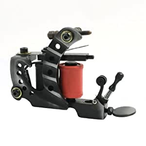 Buy make up tool 10 wraps coils metal frame liner tattoo for Tattoo machine online shopping in india