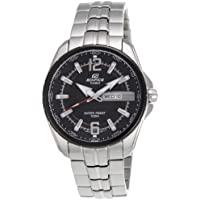 Casio Edifice Analog Black Dial Men's Watch - EF-131D-1A1VDF (ED444)