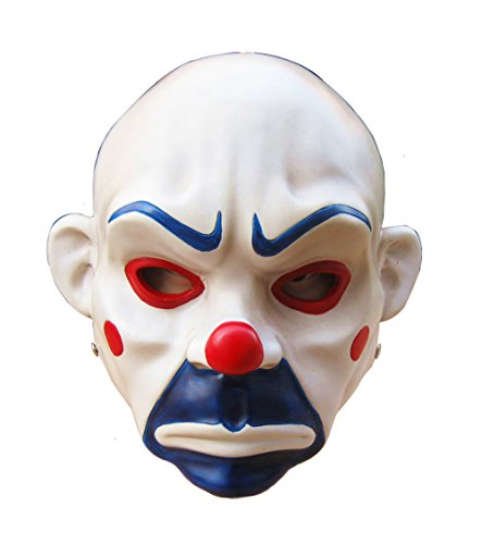 Gmasking Resin Batman Joker Adult Clown Mask Replica