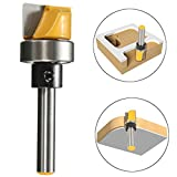 1/4 Inch Shank Hinge Mortise Template Router Bit Woodworking Milling Cutter