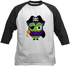 Truly Teague Kids Baseball Jersey Little Owl Pirate