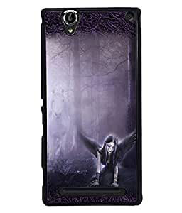 Fuson 2D Printed Girly Designer back case cover for Sony Xperia T2 Ultra - D4152