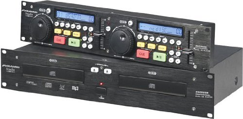 Pyramid PRCD25M Professional Dual CD/MP3 Player with Jog Dial