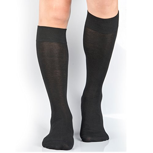 3 Pairs Thin Business Knee Socks