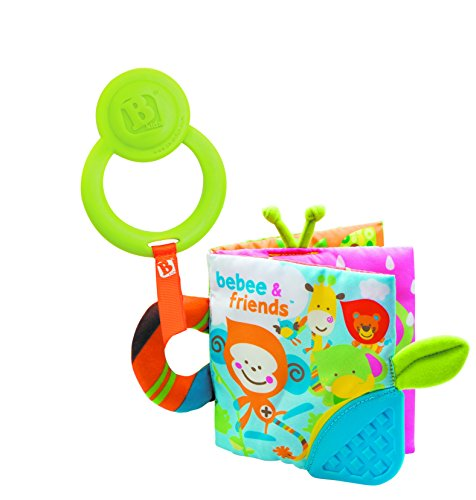 B kids Teething Activity Book