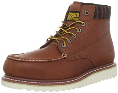 1883 by Wolverine Men's Shindell Boot,Honey,8 M US