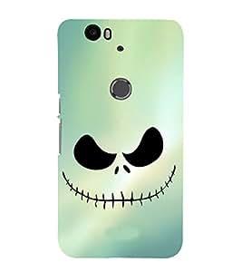 EPICCASE Evil laugh Mobile Back Case Cover For Huawei Nexus 6P (Designer Case)