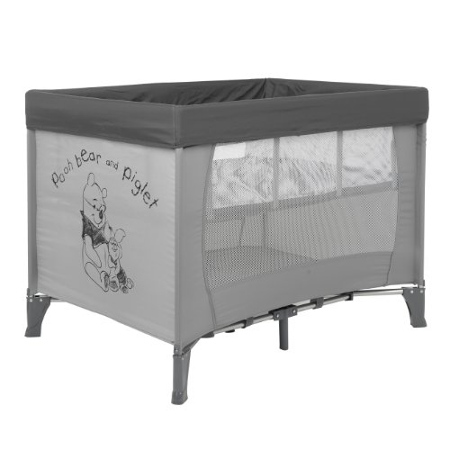 Disney Sketch Pooh Travel Cot and Bassinette (Grey)