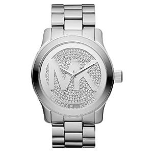 Michael Kors Runway MK Silver Dial Women's Watch - MK5544