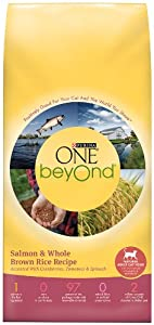 Purina One Beyond Cat Food, Salmon and Brown Rice, 3-Pound Bag