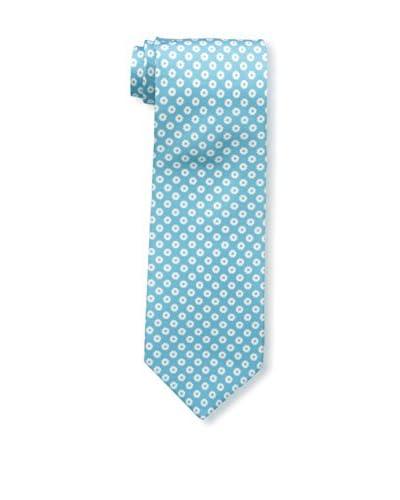 Borrelli Men's Floral Tie, Blue