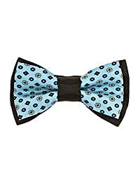 Tiekart Blue Floral/Paisely Men Bow Ties