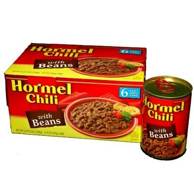 Hormel Chili With Beans - 6/15 Oz. Cans (037600222259)