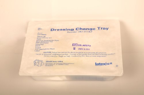 Central Line Dressing Trays W/Chloraprep ( Tray, Dressing Change, Lf ) 30 Each / Case front-601638