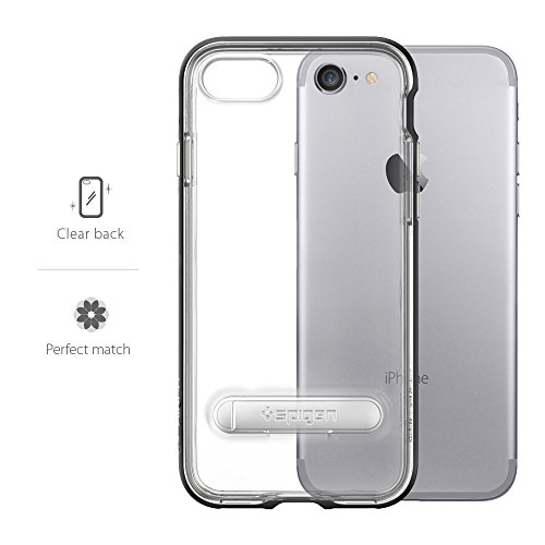 iPhone-7-Case-Spigen-Crystal-Hybrid-Metal-Kickstand-Black-Clear-TPU-PC-Frame-Slim-Dual-Layer-Premium-Case-for-iPhone-7-042CS20671