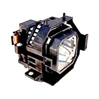 Replacement projector lamp for Epson ELPLP31, V13H010L31