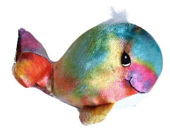 Precious Moments Tender Tails Tie Dye Whale