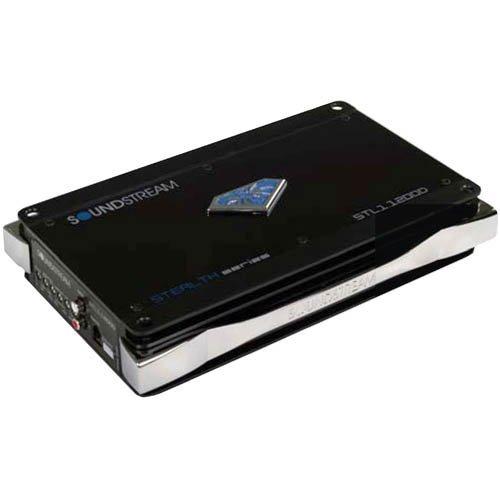 Soundstream Stl1.1200D 1200-Watt Mono Block Power Amplifier (Blue)