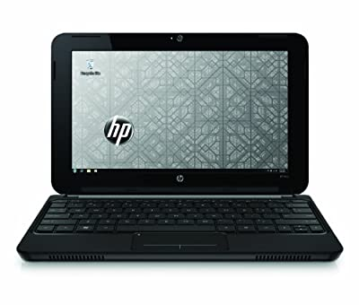 HP Mini 210-1010NR 10.1-Inch Black Netbook - 4.25 Hours of Battery Life