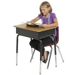 Laminate Open Front Desk [Set of 2] by ECR4Kids