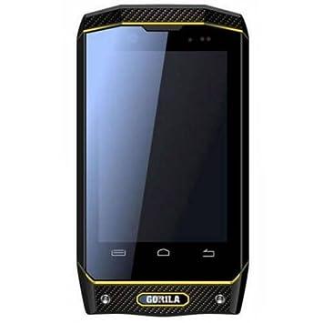 Bravus Mini Gorilla 2 Téléphone robuste sous Android avec processeur Dual Core de 1,2GHZ/1Go de mémoire vive