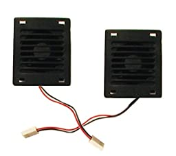 Coralife Aqualight Replacement Fans, 2-Pack