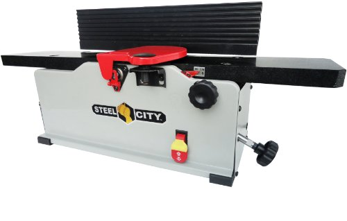 Buy Steel City Tool Works 40610gh 6 Inch Granite Bench Jointer With Helical Cutter Head Shop