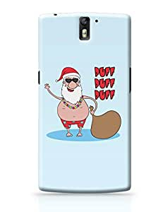 PosterGuy Puff Puff Puff Funny Santa Ho-HO-HO Parody Christmas, Santa Claus, Party, Funny OnePlus One Cover