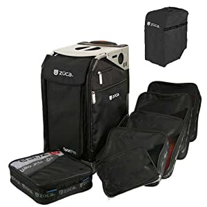 Zuca Pro Complete Set- Black Insert Bag With Black Cover