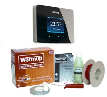 Warmup DWS300 Underfloor Heating Kit 1.5-2.4m2 inc 3ie stat