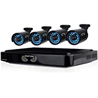 Night Owl 8 Channel 1 TB HDD and 4 x 720p HD Video Security System