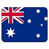 Australia Flag Premium Quality Thick Rubber Mouse Mat Pad Soft Comfort Feel Finish