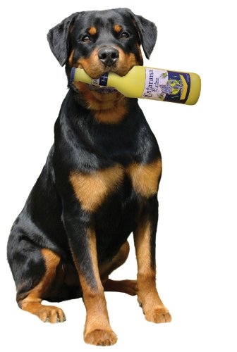 Silly Squeakers Beer Bottle Dog Toy, Cataroma