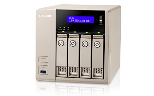 QNAP TVS-463-8G NAS, 0/4HDD, Nero