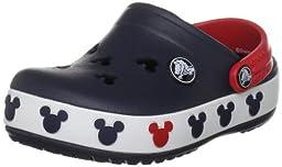 Crocs Crocband Mickey II Clog (Toddler/Little Kid),Navy/Red,12-13 M US Little Kid