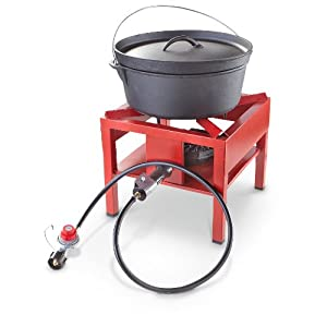 Buy Guide Gear Outdoor Stand Cooker Red by Guide Gear