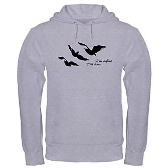 - Selfish Brave Ravens Tattoo Hoodie Hooded Sweatshirt: Clothing