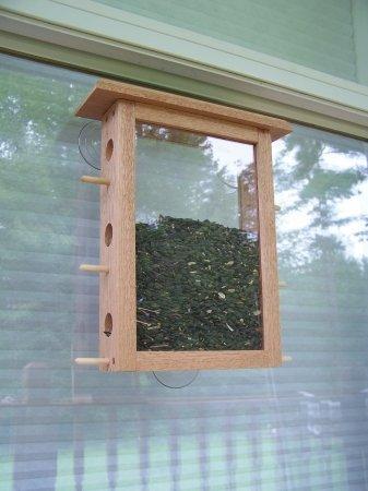 Coveside See Through Window Mount Bird Feeder